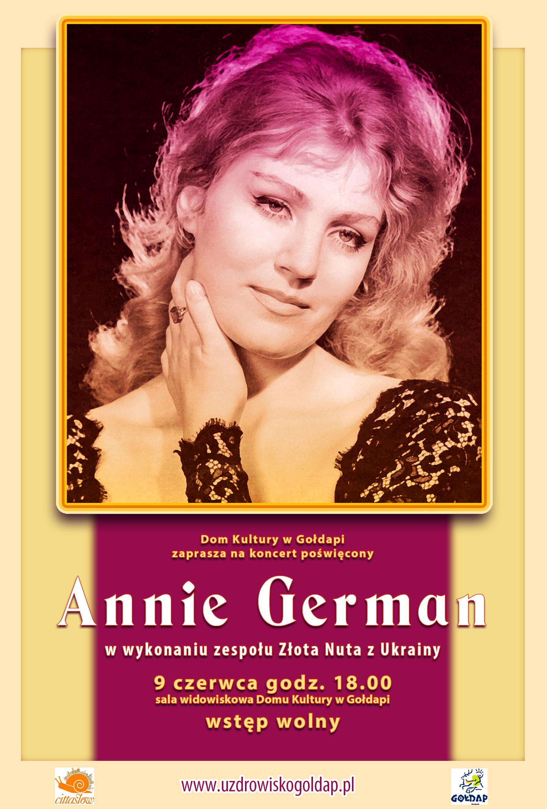 Koncert poświęcony Annie German